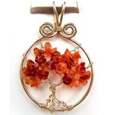 wire wrapped jewelry patterns | Wire Wrap Jewelry Lesson Tree of Life Pendant by FashionWire