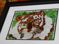 Beach Glass Art by Mavis MacDonald  My original authentic beach glass mosaics #glass