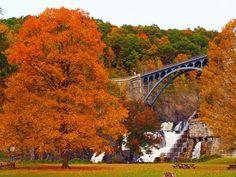 Croton Dam in Fall, Westchester County NY. https://www.facebook.com/queenkingtravel  RP for you by http://matt-sacks-dchhondaofnanuet.socdlr2.us/