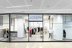 Newly opened Joseph store at SMaison at Conrad HotelManila has clean lines,monochromatic color palette. Two Store, Clean Lines, Joseph, Palette, Interior, Color, Home Decor, Palette Table, Indoor