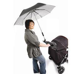 Parapluie pour poussette amovible
