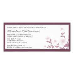 >>>Coupon Code          Mauve Long Floral Bridal Shower Invitations           Mauve Long Floral Bridal Shower Invitations This site is will advise you where to buyDeals          Mauve Long Floral Bridal Shower Invitations Review on the This website by click the button below...Cleck Hot Deals >>> http://www.zazzle.com/mauve_long_floral_bridal_shower_invitations-161545658849174473?rf=238627982471231924&zbar=1&tc=terrest