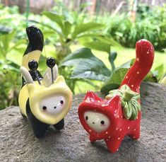 Ceramic Pottery, Pottery Art, Ceramic Art, Ceramic Animals, Clay Animals, Clay Art Projects, Sculptures Céramiques, Cute Clay, Dry Clay