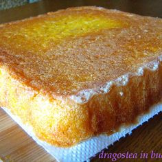 Dragostea in bucate No Cook Desserts, Holiday Desserts, No Cook Meals, Polenta, Romania Food, Romanian Desserts, Sweet Tarts, Special Recipes, Desert Recipes