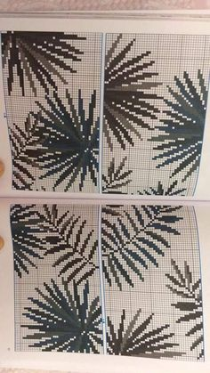 This Pin was discovered by Ozg Cross Stitch Numbers, Cross Stitch Borders, Cross Stitch Flowers, Cross Stitching, Cross Stitch Embroidery, Cross Stitch Patterns, Crochet Curtains, Rico Design, Knitting Charts