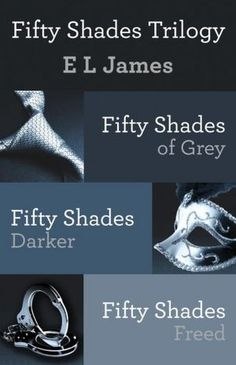 Fifty Shades Trilogy Bundle: Fifty Shades of Grey; Fifty Shades Darker; Fifty Shades Freed - Click image to find more Film, Music & Books Pinterest pins