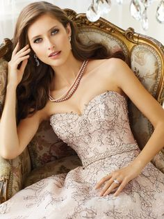 Sophia Tolli 2015 Bridal Collection  View more www.homeboutiquecraft.com