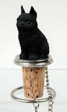 Black Brussels Griffon Wine Bottle Stopper - DTB46B by Conversation Concepts. $9.38. Pewter Base, with Chain and Ring to keep it with the Bottle. We have about 100 Dog Wine Bottle stoppers, so you should find the one you want. Hand Painted Poly Resin with Pewter Base and Chain.. Wine Safe Cork. Cute Black Brussels Griffon Wine Bottle Stopper is Made of Poly Resin and Hand Painted. Cute Black Brussels Griffon Wine Bottle Stopper is Made of Poly Resin and Hand Painte...