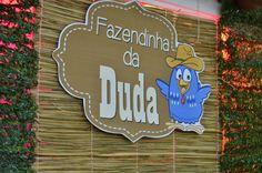 """Os 2 anos da Duda – Tema """"Fazendinha + Galinha Pintadinha"""""""