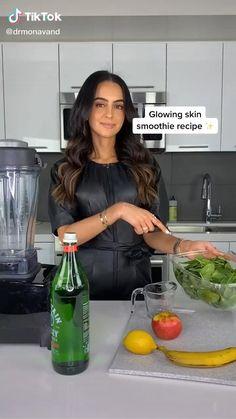Healthy Juice Recipes, Fruit Smoothie Recipes, Healthy Juices, Healthy Breakfast Recipes, Healthy Smoothies, Healthy Drinks, Healthy Snacks, Healthy Water, Healthy Detox