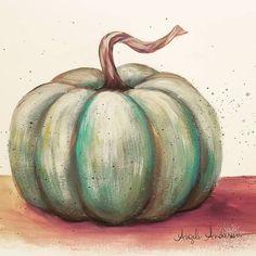 Easy Acrylic Tutorial Pumpkin on Burlap Canvas LIVE Painting Angela Anderson Autumn Painting, Autumn Art, Tole Painting, Pumpkin Painting, Fall Paintings, Canvas Paintings, Pumpkin Drawing, Autumn Crafts, Fall Canvas