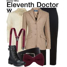 Inspired by Matt Smith as the Eleventh Doctor on Doctor Who