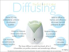 Young Living Essential Oils: Science of Diffusing