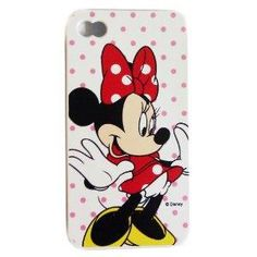 Disney Minnie Mouse TPU Case Cover for Apple iPhone 4S/4G/4 (AT, VERIZON SPRINT)