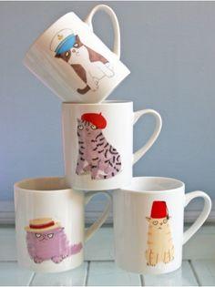Cats & Hats Mug