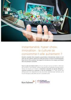 Synthèse enquête 2014 consommateurs kurt salmon pour forum d'Avignon #client #consommateurs #commerce # vad