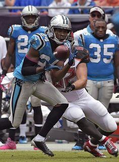 Panthers Josh Norman,