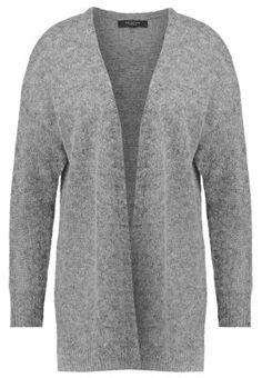 SFQUEENIE - Strickjacke - medium grey melange