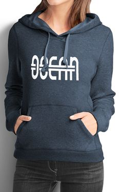 'Pick Your Passion' California Fleece Hoodie- Ocean - FindYourCoast Apparel  - 1. LARGE, MIDNIGHT NAVY