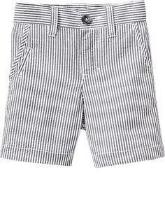 Striped Seersucker Shorts for Baby. For the boys to wear?