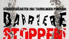"""Demo """"Hart gegen Barrieren"""" am 01. und 02. Okt. 2016"""