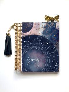 Happy Planner Cover, Mini Happy Planner, Planner Covers, Planner Tabs, To Do Planner, Cute Journals, Cool Notebooks, Erin Condren Teacher Planner, Kalender Design