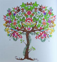 1000 images about coloriages art th rapie on pinterest for Axelle red jardin secret