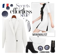 """""""Secrets of style"""" by ansev ❤ liked on Polyvore featuring STELLA McCARTNEY, J.W. Anderson, Topshop, Miu Miu, NARS Cosmetics, Stila and Minimaliststyle"""