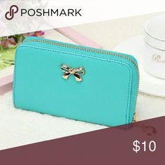 NWT SHORT WOMEN SOLID WALLET HANDBAG Brand new Short Features organizer,photo holder,zip around Material faux leather  Style envelope angelochekk boutique  Bags Wallets