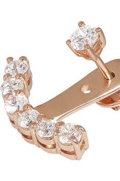 db7e83ee5c Anita Ko - 18-karat rose gold diamond earring