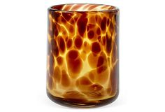 S/4 Tortoise DOF Glasses on OneKingsLane.com Gear up for gatherings with these exquisite tortoise shell rocks glasses, perfect for specialty cocktails or anything over ice. These earth-toned glasses are a beautiful addition to the table, whether you are inside, poolside, lakeside, or on the deck.
