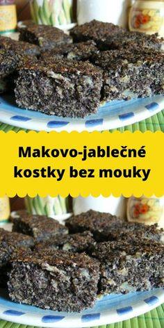 Low Carb Recipes, Diet Recipes, Dessert Recipes, Cooking Recipes, Healthy Recipes, Desserts, Slovak Recipes, Lactose Free, Healthy Sweets