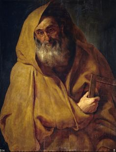 https://flic.kr/p/f4PLmh | Saint James the Minor | c. 1611. Oil on panel. 108 x 84 cm. Museo Nacional del Prado, Madrid. P01651.