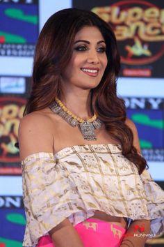 Shilpa Shetty and Anurag basu at Super Dancer launch                                                                                                                                                                                 More
