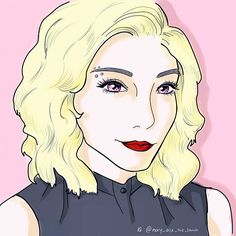 The color is always so different on the phone than on the computer   My first #KTaniMated entry  @kirstintaylor12  #kirstinmaldonado #ptx #pentatonix #digitalart #art