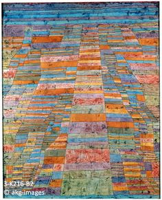 3-K216-B2 Paul Klee, Hauptweg und Nebenwege (Main Road and Side Roads), 1929 akg-images