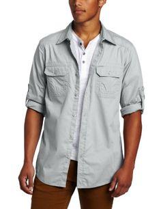 ecko unltd. Men's Long Sleeve Imaginative Woven « Clothing Impulse