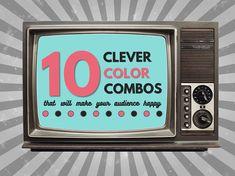 Presentation Design Tips | 10 Clever Color Combinations