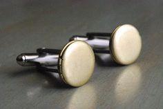 Brass Locket Cuff Links