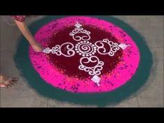 Special Rangoli Design 3 Gudi Padwa Special Design