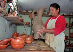 Ecuador en fotos. mujer ecuatoriana, laboriosa