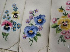 Hand Embroidery - Napkins