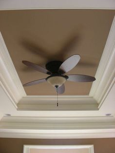 Master Bedroom Tray Ceiling tray ceiling with wallpaper. master bedroom tray ceiling with