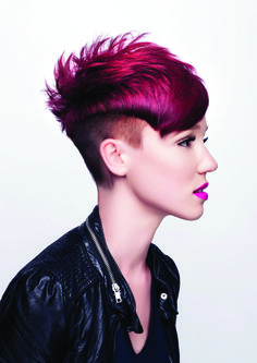 Electric Pink Pixie