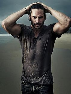 Joe Manganiello: The only man who's as buff as he is, and is still sexy hot to me. Must be the rugged beard and messy hair ;)