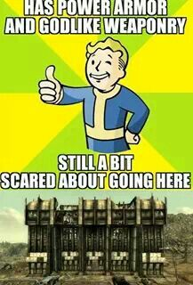 That Dunwich building is no fun Fallout 3, Fallout Comics, Fallout Funny, Fallout New Vegas, Video Game Memes, Video Games, Funny As Hell, Boy Quotes, Gaming Memes