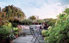 With a terrace like this, who needs a backyard?