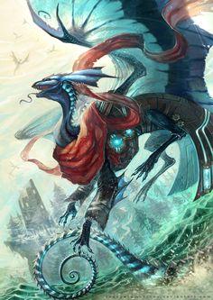 flight rising | dragon | mirror | click for source