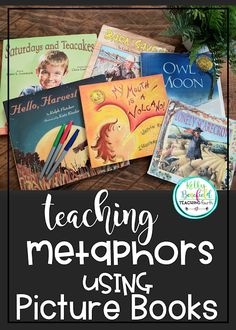 Teaching Fourth: Picture Books for Teaching Metaphors Persuasive Writing, Teaching Writing, Student Teaching, Teaching Ideas, Reading Strategies, Reading Activities, Speech Activities, Reading Resources, Educational Activities