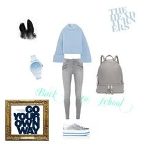 """""""Back to school"""" by annamariaper on Polyvore featuring Marc Jacobs, Jil Sander, Michael Kors and Lacoste"""